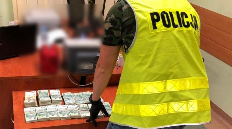 Policjanci zatrzymali towar warty 16 tysięcy złotych