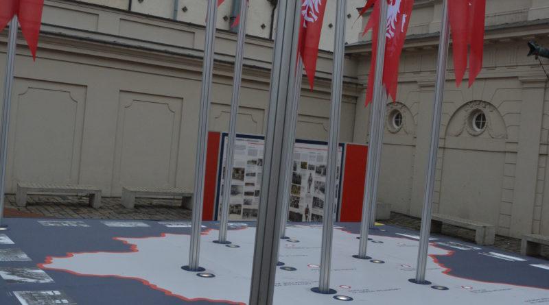 Prezydenci rozdawali flagi mieszkańcom Poznania zdjęcia 25 800x445 - Prezydenci rozdawali flagi mieszkańcom Poznania - zdjęcia