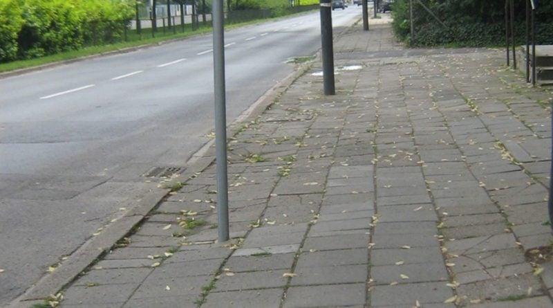 Remont nawierzchni chodnika