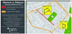 czasowa organizacja ruchu w rejonie ul palaczapic11016124687212863show2 300x141 - Rusza przebudowa ul. Palacza