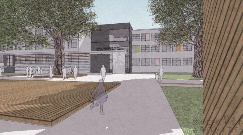 koncepcja rozbudowy szkoly opracowana przez sniadek sniadek architekcipic11016125304212967with ratio16 9 800x445 - Szkoła na Podolanach będzie większa