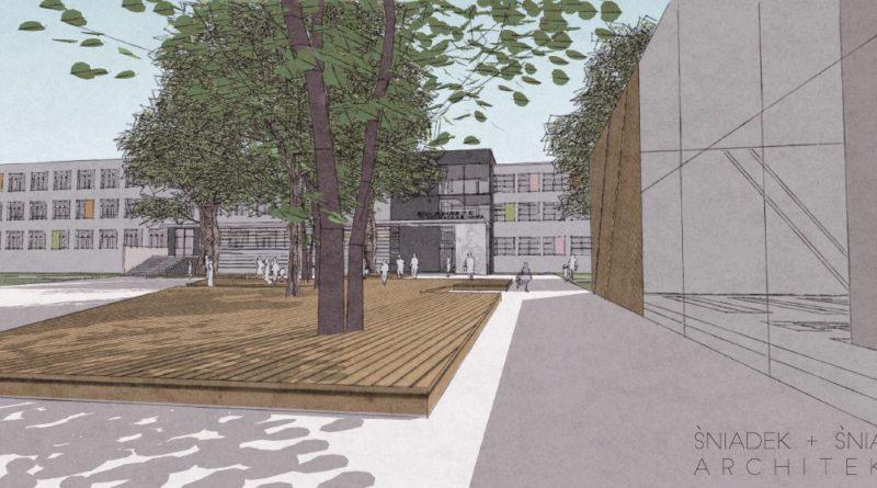 koncepcja rozbudowy szkoly opracowana przez sniadek sniadek architekcipic11016125304212969show2 800x445 - Szkoła na Podolanach będzie większa
