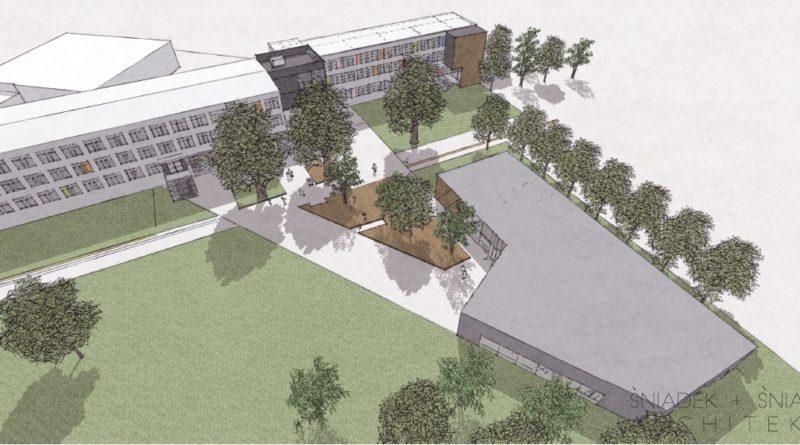 koncepcja rozbudowy szkoly opracowana przez sniadek sniadek architekcipic11016125304212971show2 800x445 - Szkoła na Podolanach będzie większa