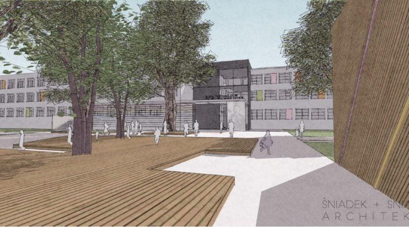 koncepcja rozbudowy szkoly opracowana przez sniadek sniadek architekcipic11016125304212973show2 800x445 - Szkoła na Podolanach będzie większa