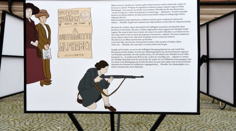 """na wolnym dziedzincu ump mozna ogladac wystawe pt herstoria 1918 1919pic11016125305213654show2 800x445 - Wystawa """"Herstoria 1918/1919"""", czyli co potrafią kobiety"""
