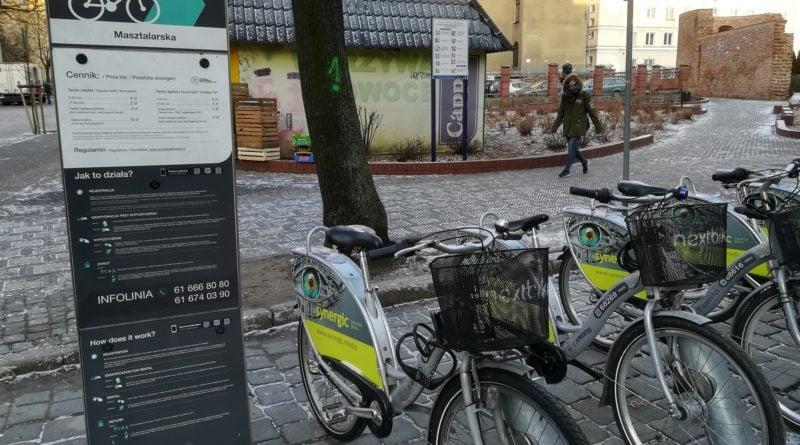 stacja rowerow miejskich 2 800x445 - Poznań: Kłopot z miejskimi rowerami