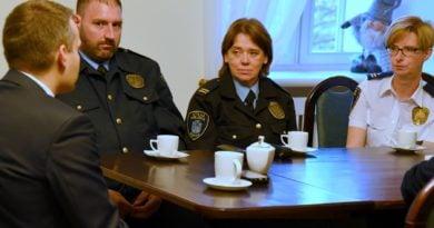 Strażnicy Miejscy dostali oficjalne podziękowania