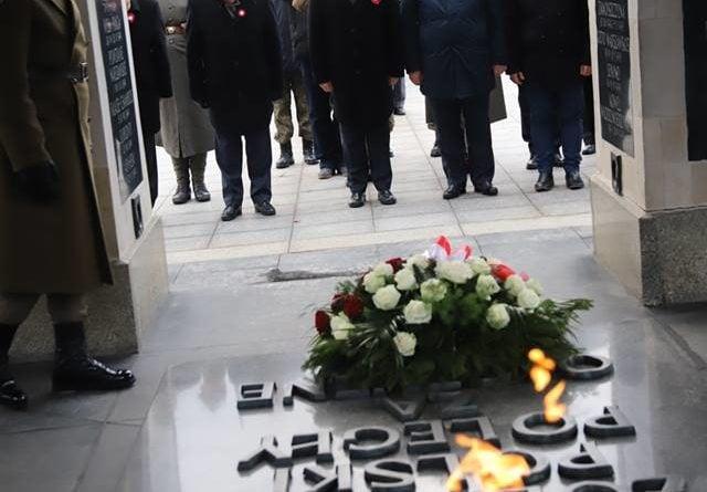 49338785 1152823751561657 8395668724371161088 n 640x445 - W Warszawie uczczono Powstanie Wielkopolskie