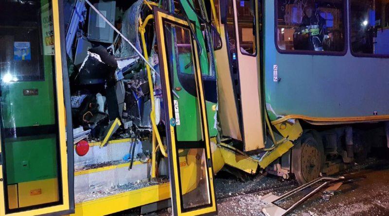 Duży wypadek na ulicy Grunwaldzkiej