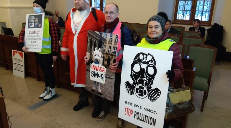 Koalicja Antysmogowa przerwała sesję rady miasta
