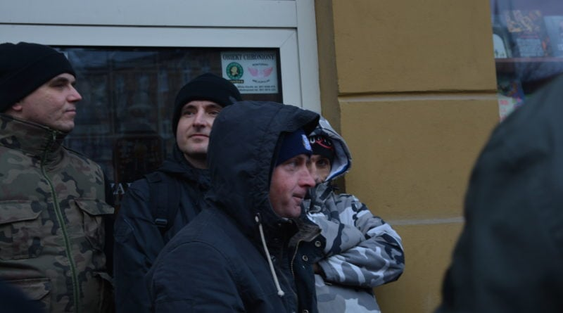stanislaw michalkiewicz 11 800x445 - Stanisław Michalkiewicz w Poznaniu - protesty