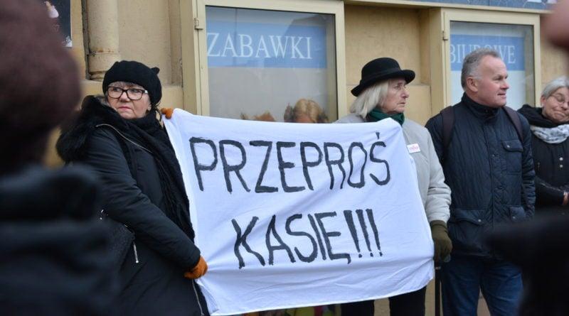 stanislaw michalkiewicz 13 800x445 - Stanisław Michalkiewicz w Poznaniu - protesty