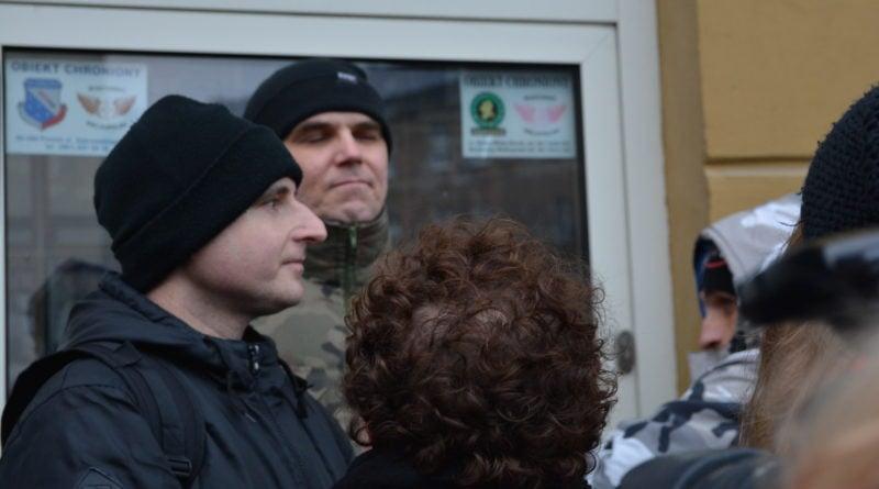 stanislaw michalkiewicz 16 800x445 - Stanisław Michalkiewicz w Poznaniu - protesty