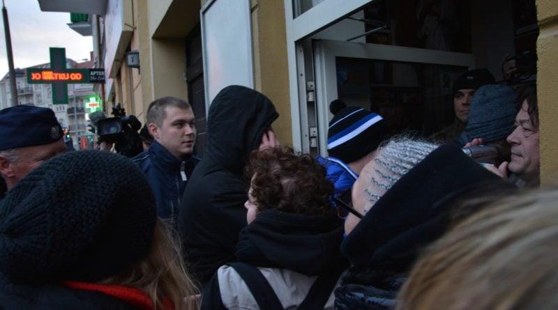 stanislaw michalkiewicz 26 800x445 - Stanisław Michalkiewicz w Poznaniu - protesty