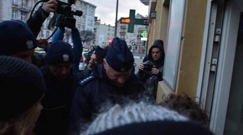 stanislaw michalkiewicz 28 800x445 - Stanisław Michalkiewicz w Poznaniu - protesty
