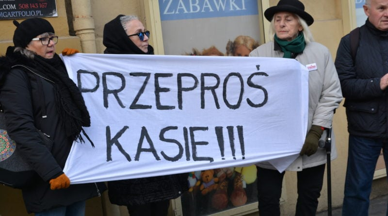 stanislaw michalkiewicz 39 800x445 - Stanisław Michalkiewicz w Poznaniu - protesty
