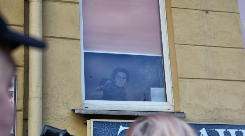 stanislaw michalkiewicz 47 800x445 - Stanisław Michalkiewicz w Poznaniu - protesty