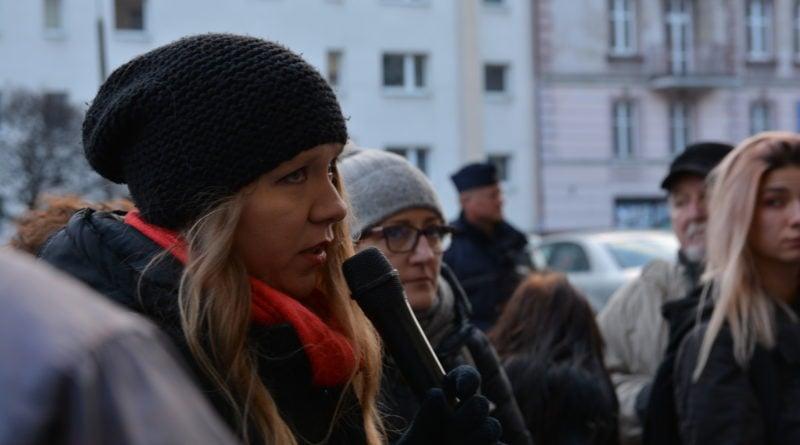 stanislaw michalkiewicz 49 800x445 - Stanisław Michalkiewicz w Poznaniu - protesty
