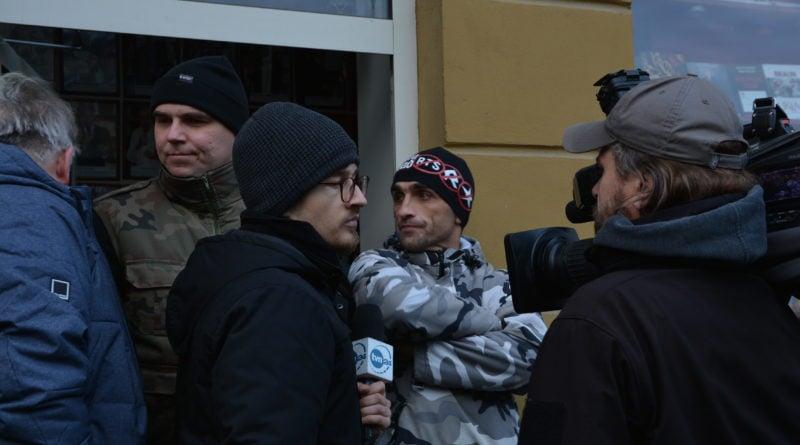stanislaw michalkiewicz 8 800x445 - Stanisław Michalkiewicz w Poznaniu - protesty