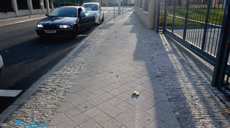 ulica cicha chodnik po remoncie fot zdm 800x445 - Nowe chodniki w Poznaniu