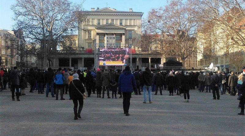 Poznaniacy pożegnali prezydenta Adamowicza