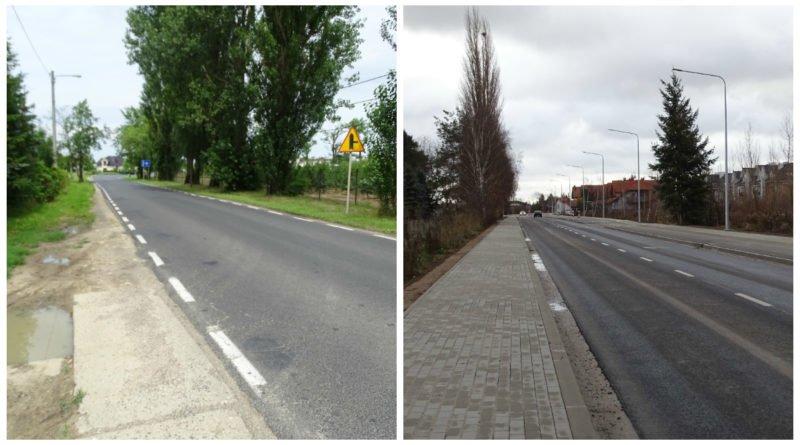 tak zmienila sie droga z zalasewa do kleszczewa 3 800x445 - Tak zmieniła się droga z Zalasewa do Kleszczewa!