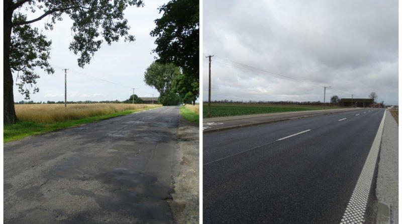 Tak zmieniła się droga z Zalasewa do Kleszczewa!