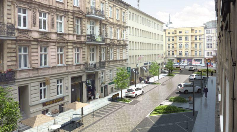 Ulice Taczaka i Garncarska będą jak nowe (wizualizacje)