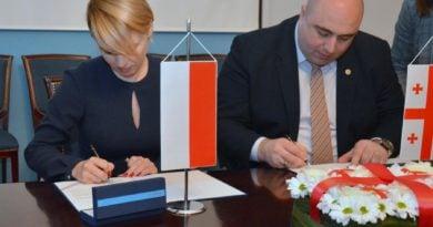 11 lutego przedstawiciele obu miast podpisali umowe o kontynuowaniu wspolpracypic11016128839221461with ratio16 9 390x205 - Poznań i Kutaisi: współpracy ciąg dalszy