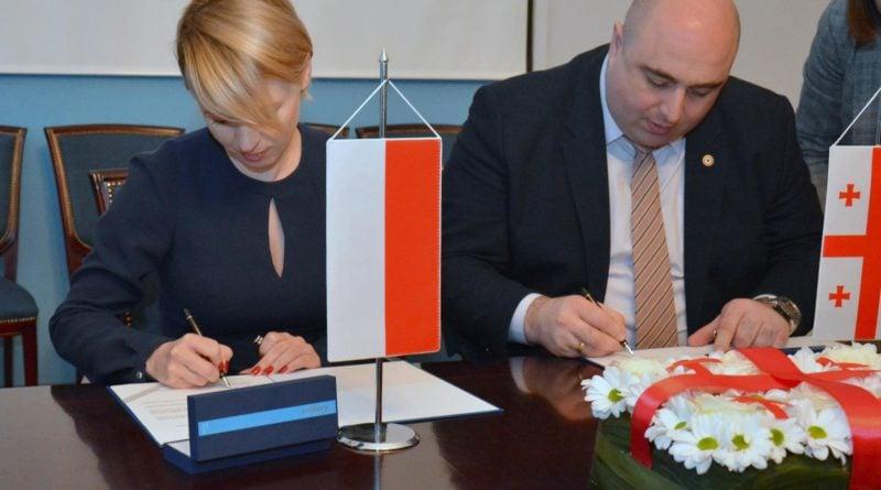 11 lutego przedstawiciele obu miast podpisali umowe o kontynuowaniu wspolpracypic11016128839221461with ratio16 9 800x445 - Poznań i Kutaisi: współpracy ciąg dalszy