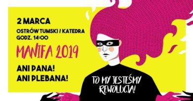 52963500 1268121793341073 8170253447514292224 o 390x205 - Poznań: stacjonarna Manifa 2019 na Ostrowie Tumskim