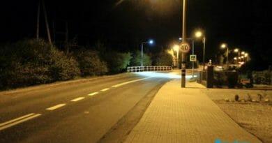 Dodatkowe oświetlenia na przejściach dla pieszych