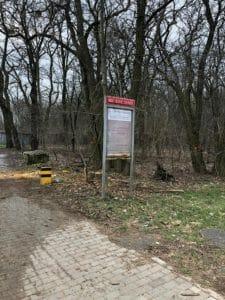 park fort vii 1 225x300 - Stop dla zmian w dzikim parku przy Forcie VII