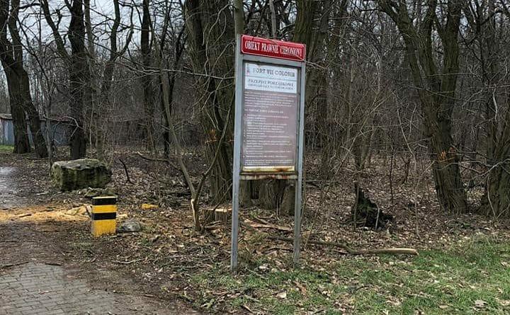 park fort vii 1 720x445 - Stop dla zmian w dzikim parku przy Forcie VII