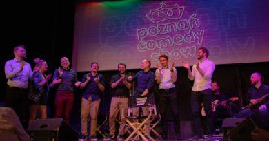 poznan comedy show 9 390x205 - Poznań Comedy Show: chłopaki - i dziewczyna - dali czadu!
