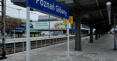 Poznań Główny fot. UMP