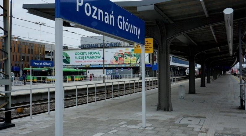 poznan glowny fot. ump 800x445 - Poznań: Zerwana kolejowa sieć trakcyjna, duże opóźnienia