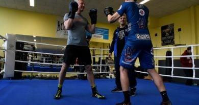 Jacek Jaśkowiak trenuje boks fot. UMP (9)