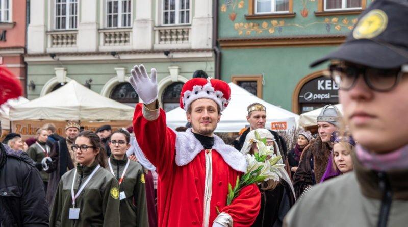 kaziuk wilenski 2019 28 800x445 - 26 Kaziuk Wileński w Poznaniu - Orszak królewski na Starym Rynku (zdjęcia)