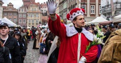kaziuk wilenski 2019 44 390x205 - 26 Kaziuk Wileński w Poznaniu - Orszak królewski na Starym Rynku (zdjęcia)