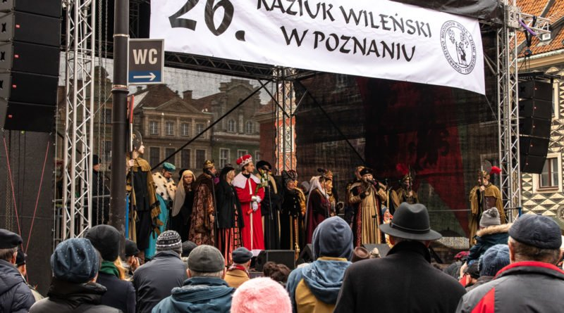 kaziuk wilenski 2019 83 800x445 - 26 Kaziuk Wileński w Poznaniu - Orszak królewski na Starym Rynku (zdjęcia)