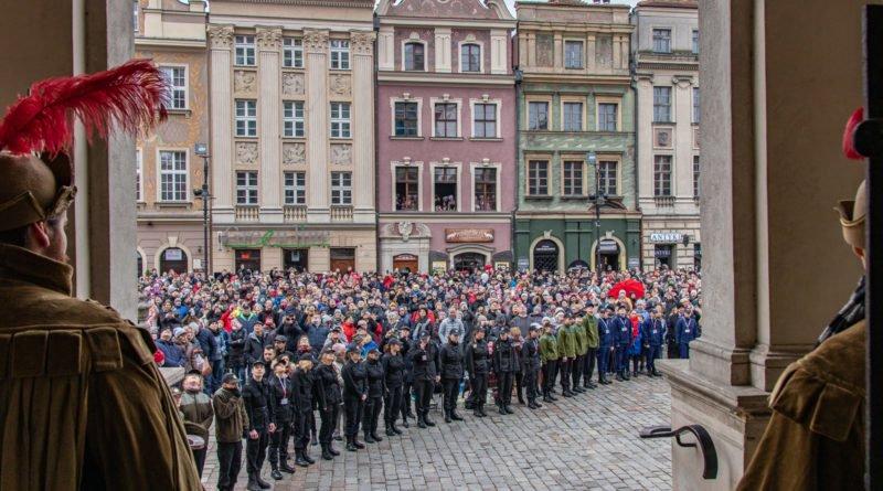 kaziuk wilenski 2019 9 800x445 - 26 Kaziuk Wileński w Poznaniu - Orszak królewski na Starym Rynku (zdjęcia)