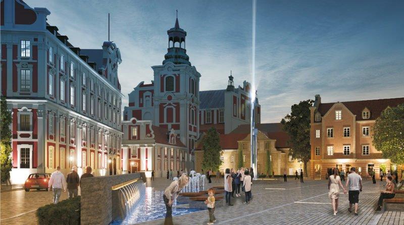 plac kolegiacki fot. mat. pras. 3 800x445 - Poznań: Przebudowa Placu Kolegiackiego (wizualizacje)