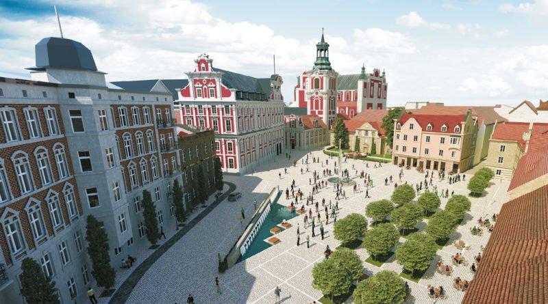 plac kolegiacki fot. mat. pras. 800x445 - Poznań: Przebudowa Placu Kolegiackiego (wizualizacje)