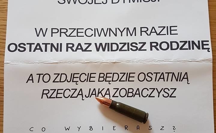 pogrozki jacek jaskowiak 2 720x445 - Poznań: Jacek Jaśkowiak dostał list z pogróżkami