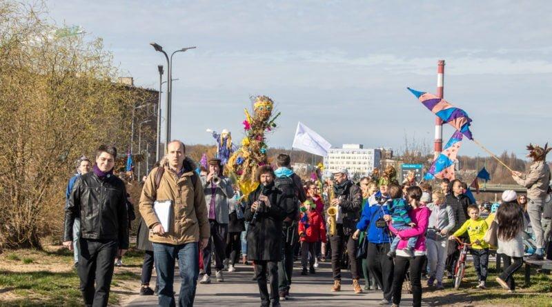 pogrzeb zimy 61 800x445 - Poznań: Pożegnanie zimy i radosne przywitanie wiosny!