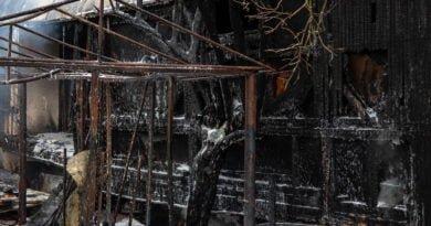 pozar srodka 11 390x205 - Murowana Goślina: Śledztwo w sprawie wybuchu gazu jeszcze potrwa