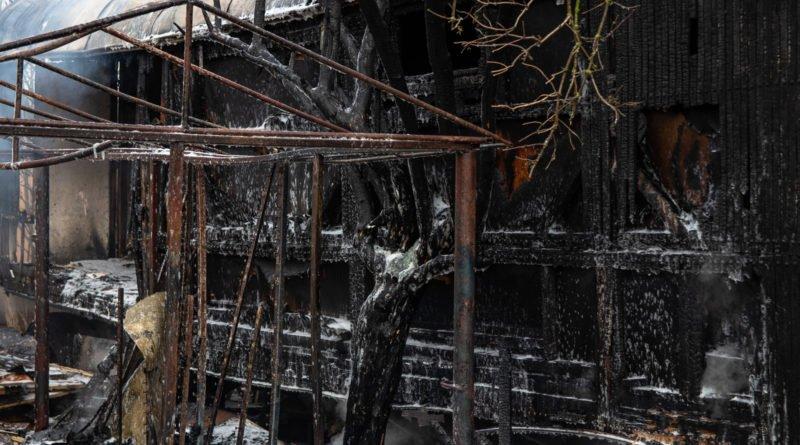 pozar srodka 11 800x445 - Murowana Goślina: Śledztwo w sprawie wybuchu gazu jeszcze potrwa