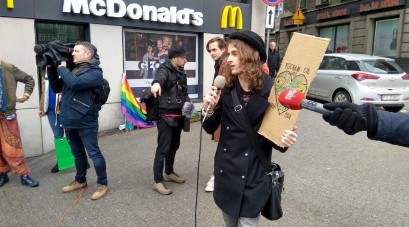 """protest zmiany klimatu 2 800x445 - Poznań: Wagarowali w obronie klimatu. """"To jest, albo będzie największy problem ludzkości"""""""