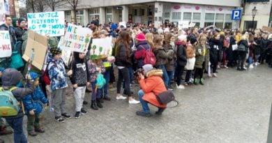 protest zmiany klimatu